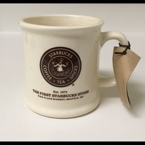 The First Starbucks Mug Pike Place Market